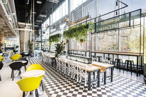 Lido restaurang i Solaris Centrum