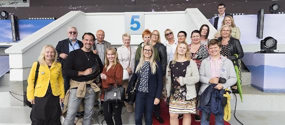 Suomalaistoimittajat ja bloggaajat vierailivat Tallinnassa 19.–20.8.