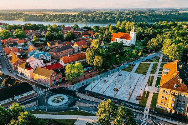 15 - Viljandi - Elva bicycle route