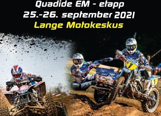 Külgkorvide motokrossi maailmameistrivõistluste ja Quadide EM - etapi plakat