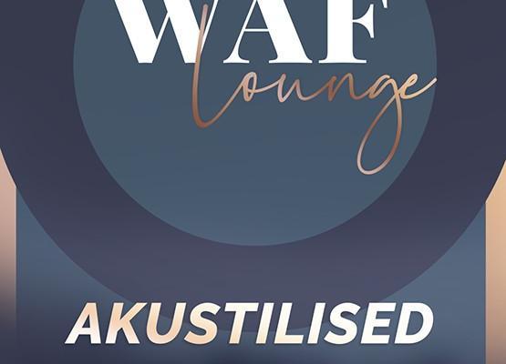 Waf lounge'i kontserdi plakat