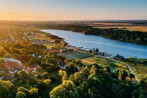 Badestrand am See Viljandi