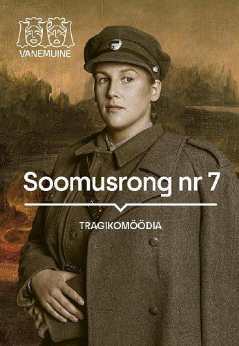 "Tragikomöödia ""Soomusrong nr 7"" plakat"