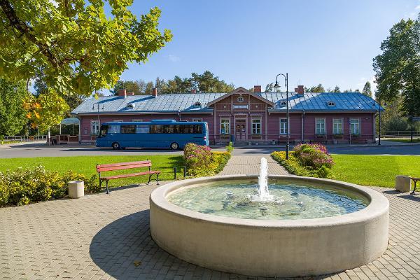Elvas stationsbyggnad