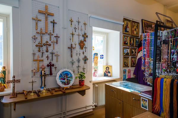 EELK Tartu Pauluse kiriku raamatupoe kristlik sümboolika ja kirjandus