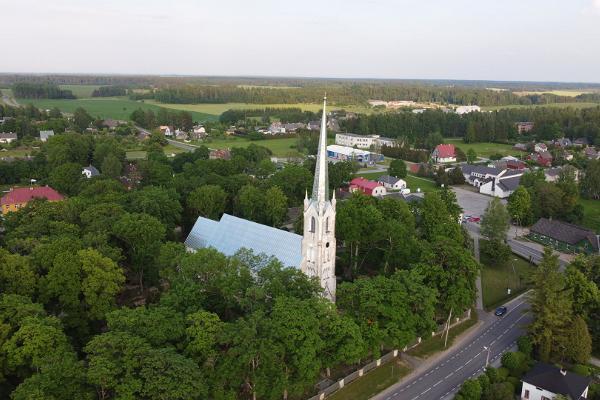 St John the Baptist Lutheran Church in Järva-Jaani