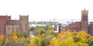 Кренгольмская мануфактура - монументальный памятник индустриальной эпохи