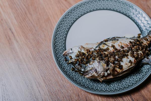 Ravintola Humalan kalan ruokakuva