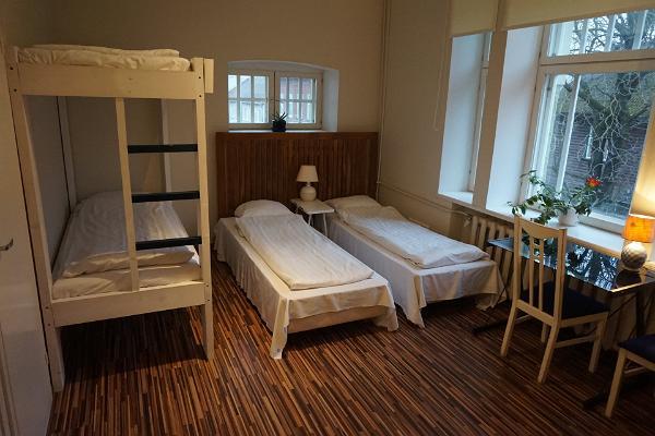 "Hosteļa ""Looming"" studio apartamenti ģimenei, divstāvu gulta"
