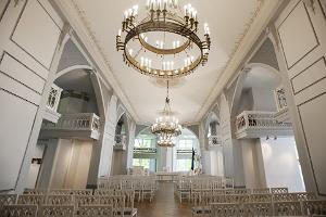 Tartu Ülikooli muuseumi valge saal