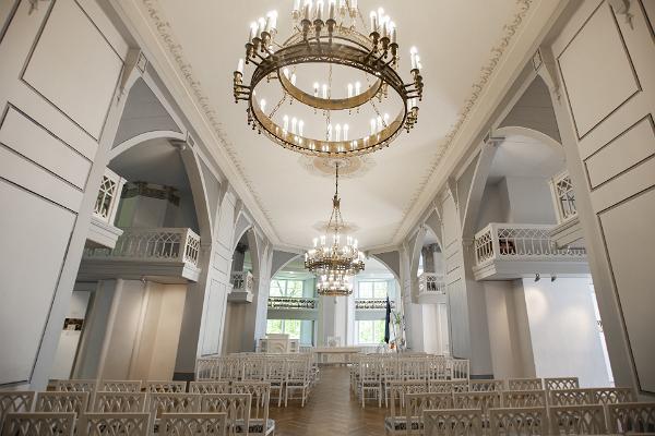 Tartu Universitets museums vita sal