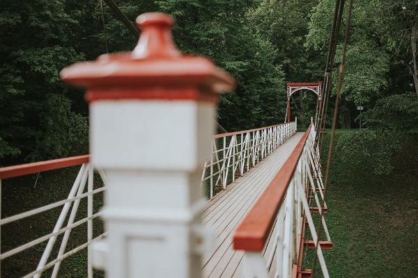 Viljandi Suspension Bridge