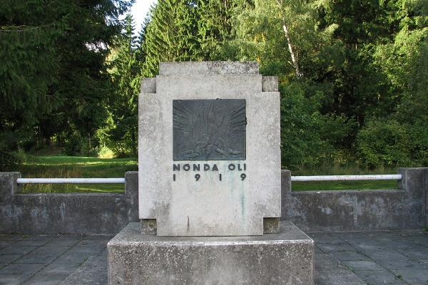 War of Independence monument at the Palermo forest in Rakvere