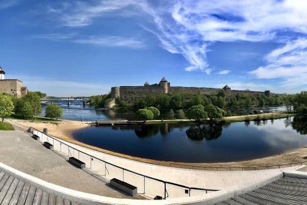 Recreation area of Joaorg and beach in Narva