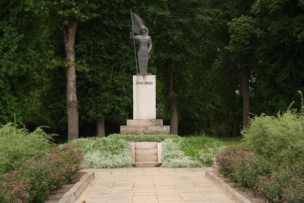 Vabadussõjas langenute mälestussammas Tarvastus