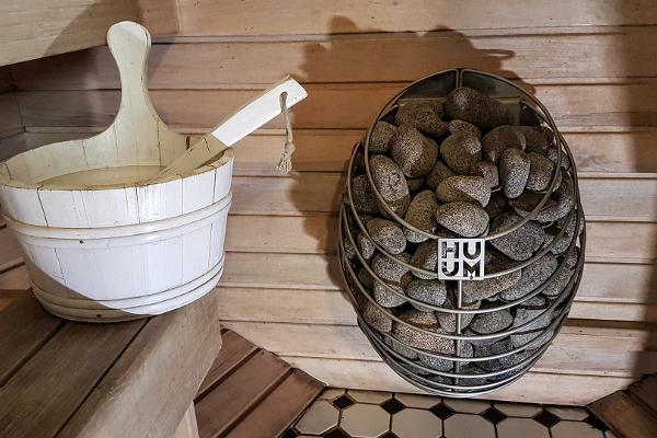 Exklusiv fiskebåtsbastu på Fishing Village