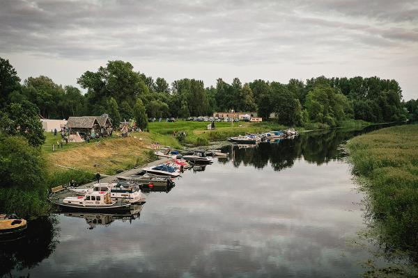 Unterkunft im Bootshaus in Fishing Village