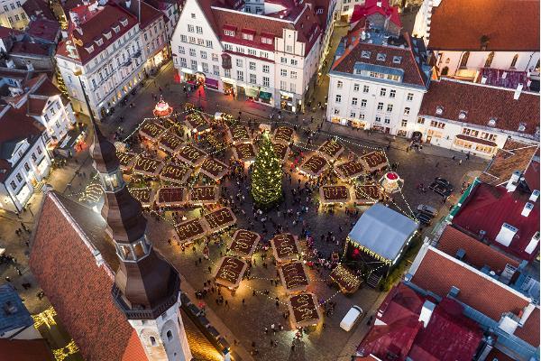 Julmarknaden i Tallinn