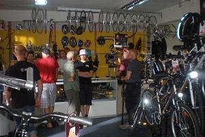 Cykeluthyrning i butiken Rattad-Vabaaeg