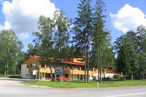 Motelli Waiden lounasbuffet