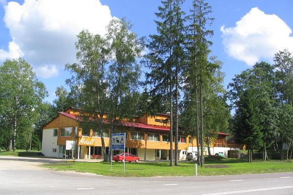 Waide motelli toitlustus peamaja saalides