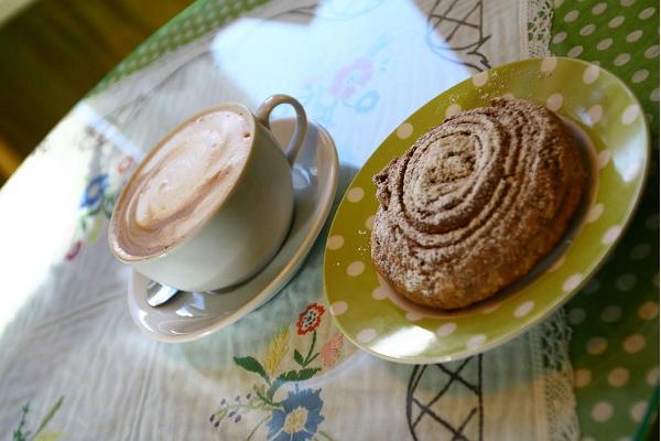 Laden und Café des Grünen Hauses