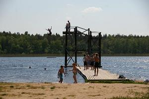 Veinjerves ezers un telšu zona