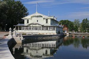 Summer restaurant of Haapsalu Kuursaal