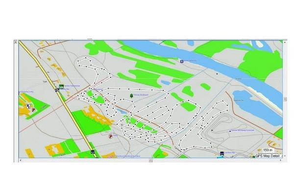 Tähtveren hiihtoladut - latujen kartta