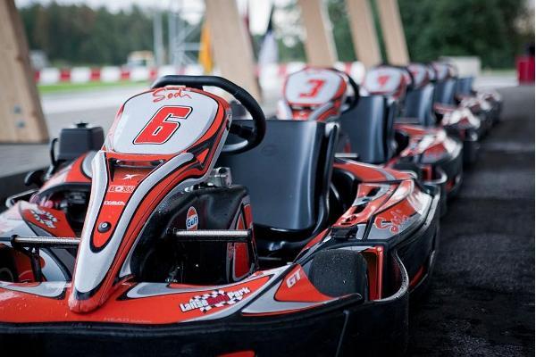 Go-kart track at LaitseRallyPark
