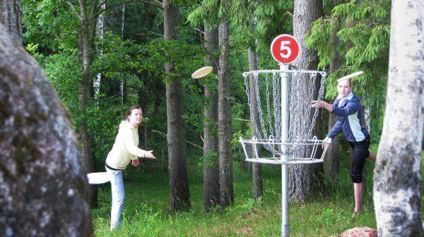 Disku golfa trase Mammastē