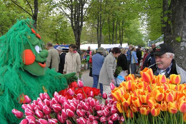 Blomstermarknaden i Türi