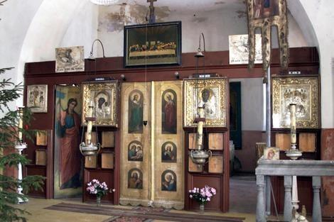 Estnische Apostolisch-Orthodoxe Kirche der Heiligen Dreifaltigkeit in Paadrema