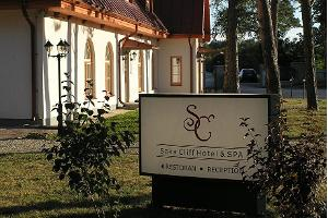 Hotel auf dem Gutshof Saka