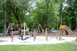 Der Vanapargi Spielplatz in Pärnu