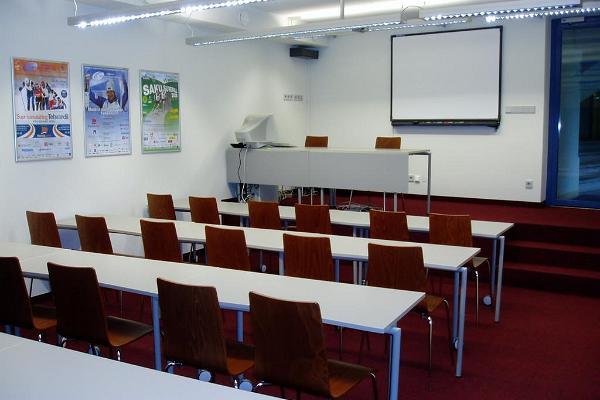 Seminarraum des Gästehauses Tehvandi