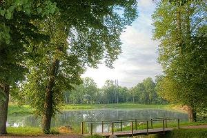 Park von Gut Mõniste