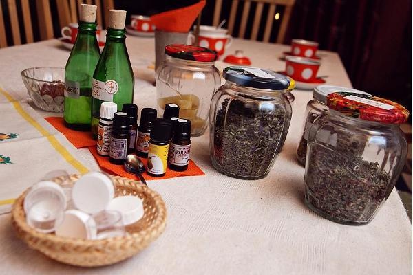 Matkultur och kosmetika workshops i Harmoonikum
