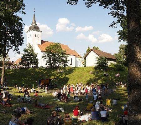 Die Johannis-Kirche in Viljandi