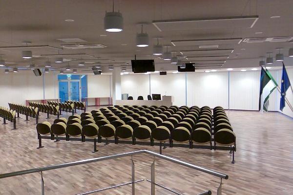 Konferenscentret i Ida-Virumaa Yrkesutbildningscentrets Narvas studieplats