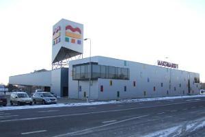 Maksimarketin kahvila Paidessa