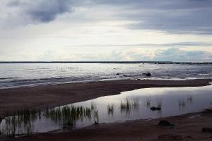 Lauku sēta uz Prangli salas