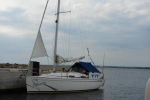 Segelturer på Pärnuviken med segelbåten Põhjatäht
