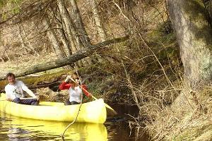 Kanuwanderungen auf dem Fluss Võhandu