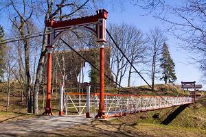 Viljandis hängbro