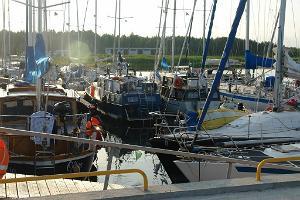 Lõunaranna Harbour on Muhu