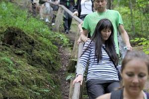 Guided hike in Taevaskoja