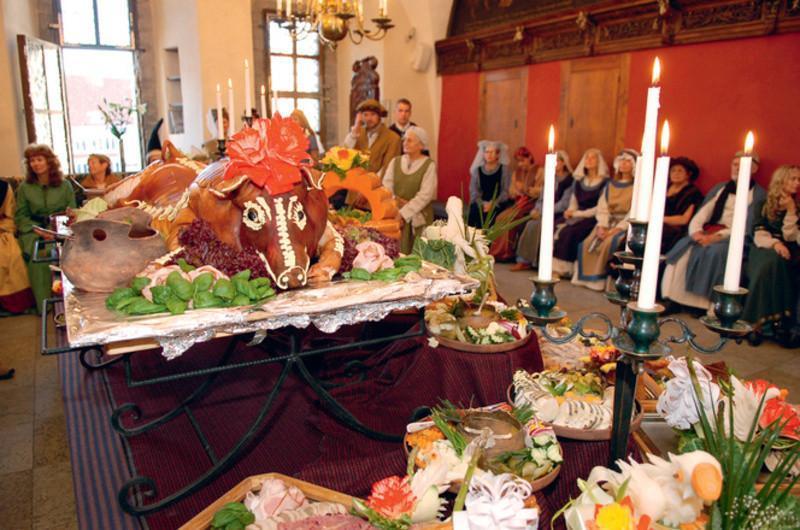 Дни средневековья в таллиннском Старом Городе