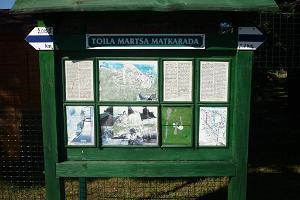 Toila-Martsan vaellusreitti