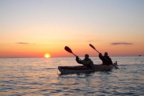 Izbrauciens ar smailītēm uz Prangli un Kolgas līča salām